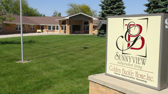 Sunnyview and its sign